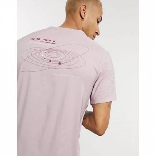 ライズ Tシャツ ピンク メンズファッション トップス カットソー 【 PINK NIKE RUNNING RISE 365 TSHIRT IN 】