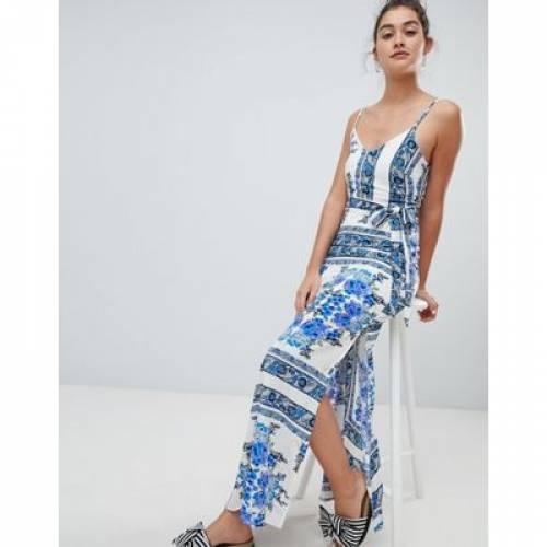 ドレス レディースファッション ワンピース 【 PARISIAN PRINTED CAMI MAXI DRESS 】