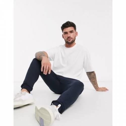 Tシャツ 白 ホワイト メンズファッション トップス カットソー 【 WHITE NEW LOOK OVERSIZED TSHIRT IN 】