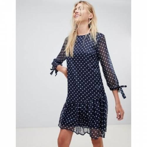 ドレス レディースファッション ワンピース 【 PIECES MALONE SPOTTY SHIFT DRESS 】