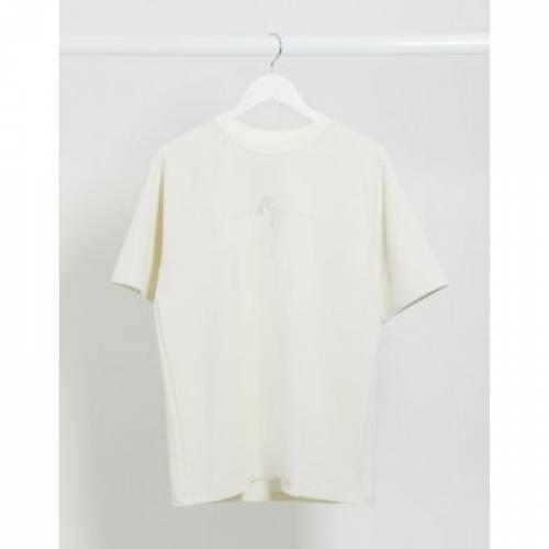 ラグラン Tシャツ メンズファッション トップス カットソー 【 RAGLAN RIVER ISLAND TEXTURED TSHIRT IN STONE 】
