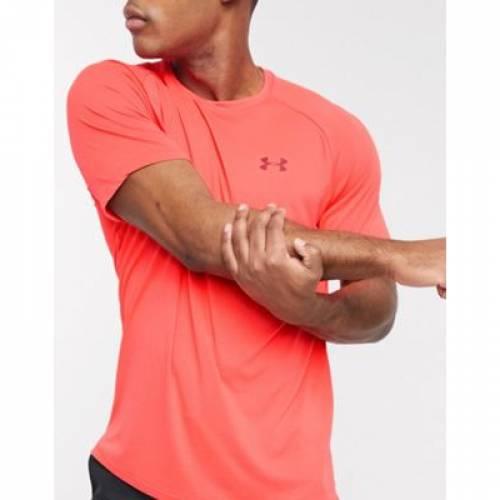 テック Tシャツ 赤 レッド 2.0 メンズファッション トップス カットソー 【 RED UNDER ARMOUR TECH TSHIRT IN 】