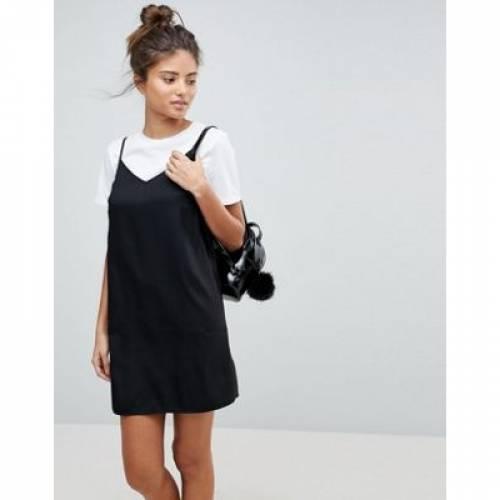 ドレス レディースファッション ワンピース 【 ASOS DESIGN FULLER BUST MINI CAMI SLIP DRESS 】