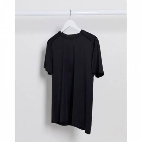 Tシャツ GRAY灰色 グレイ メンズファッション トップス カットソー 【 GREY NEW LOOK SPORT RECYCLED POLYESTER RUNNING TSHIRT IN 】