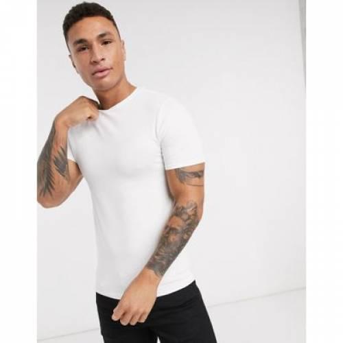 Tシャツ 白 ホワイト メンズファッション トップス カットソー 【 WHITE RIVER ISLAND TSHIRT IN 】