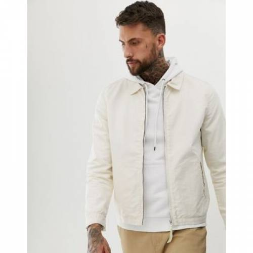 メンズファッション コート ジャケット 【 ASOS DESIGN HARRINGTON JACKET IN ECRU 】