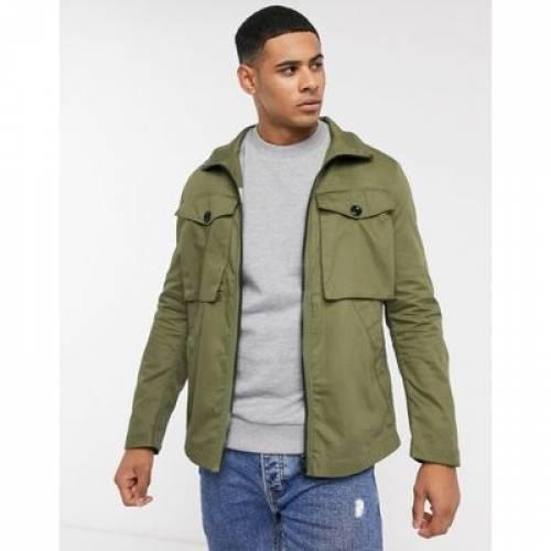 メンズファッション コート ジャケットGSTAR TYPE C ZIP UTILITY JACKET1l3FKJcuT