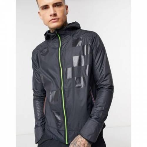 ラン ワイルド 黒 ブラック メンズファッション コート ジャケット 【 WILD BLACK NIKE RUNNING RUN PACK SHIELD JACKET IN 】