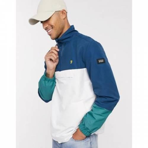 メンズファッション コート ジャケット 【 FARAH RIPLEY PANELLED OVERHEAD JACKET 】