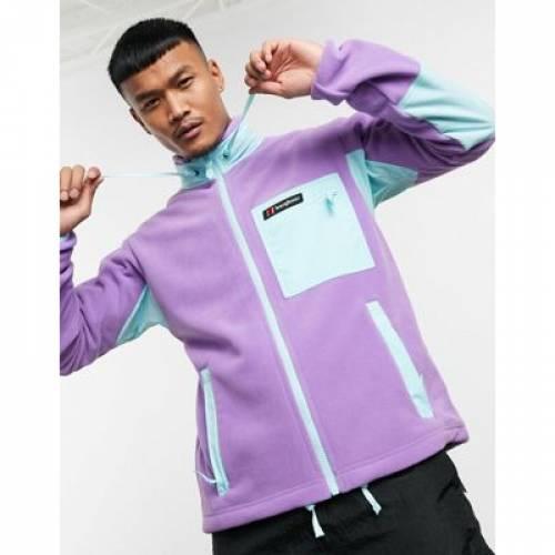 フリース 紫 パープル メンズファッション コート ジャケット 【 PURPLE BERGHAUS ASCENT 91 FULL ZIP FLEECE IN 】