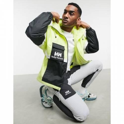 メンズファッション コート ジャケット 【 HELLY HANSEN RAIN JACKET IN LIME 】