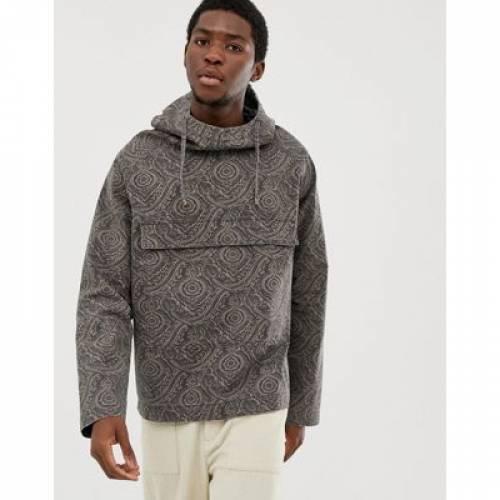 ウィンドブレーカー メンズファッション コート ジャケット 【 ASOS DESIGN WINDBREAKER IN PAISLEY PRINT 】