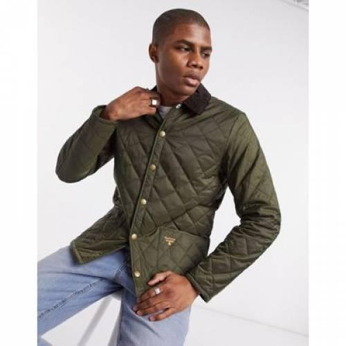 オリーブ メンズファッション コート ジャケット 【 OLIVE BARBOUR BEACON STARLING QUILTED JACKET IN 】