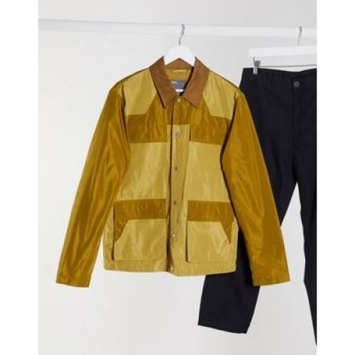 メンズファッション コート ジャケット 【 ASOS DESIGN HARRINGTON JACKET WITH COLOURBLOCK AND UTILITY POCKETS 】