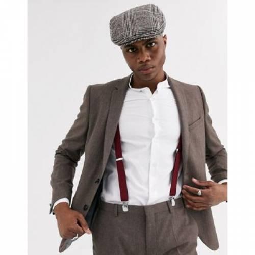 スリム 茶 ブラウン & メンズファッション コート ジャケット 【 SLIM BROWN SHELBY SONS SUIT JACKET IN 】 ※セットアップではありません