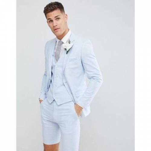 スリム メンズファッション スーツ セットアップ 【 SLIM FRENCH CONNECTION WEDDING LINEN FIT SUIT JACKET 】 ※セットアップではありません