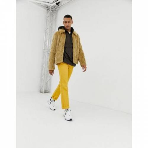 ウィンドブレーカー フリース メンズファッション コート ジャケット 【 ASOS DESIGN WINDBREAKER WITH FLEECE LINING IN LEOPARD PRINT 】