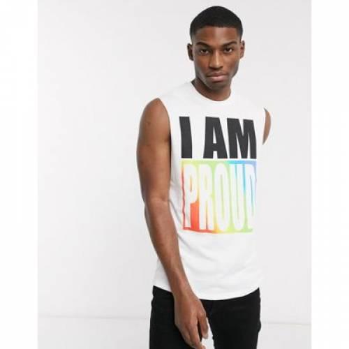 ノンスリーブ Tシャツ ベスト LEVI'S メンズファッション トップス ジレ 【 SLEEVELESS COMMUNITY RAINBOW TSHIRT VEST 】