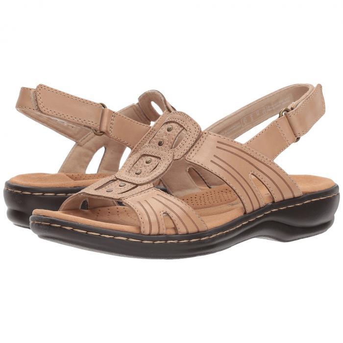 クラークス CLARKS レディース 【 Leisa Vine 】 Sand Leather