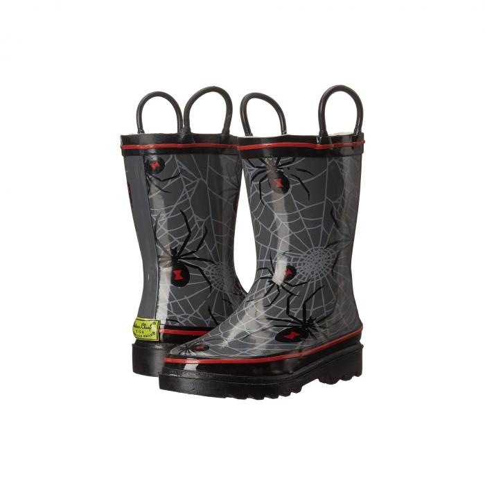 【海外限定】スパイダー ベビー 靴 【 SPIDER WEB CRAWL RAINBOOTS TODDLER LITTLE KID BIG 】