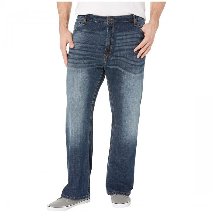SIGNATURE BY LEVI STRAUSS & CO. GOLD LABEL 【 BIG TALL REGULAR FIT JEANS STERLING 】 メンズファッション ズボン パンツ 送料無料