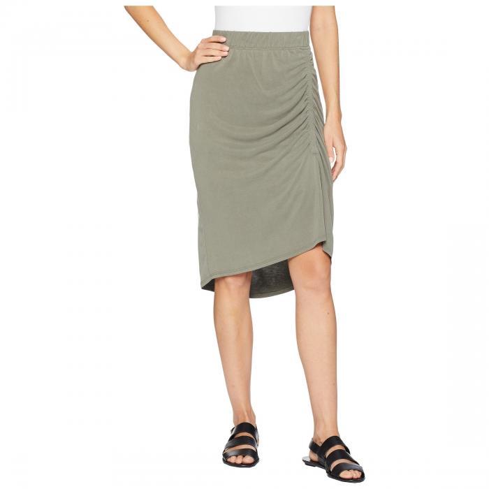 【海外限定】ジャージ レディースファッション スカート 【 SPLENDID SANDWASH JERSEY SLIT SKIRT 】【送料無料】