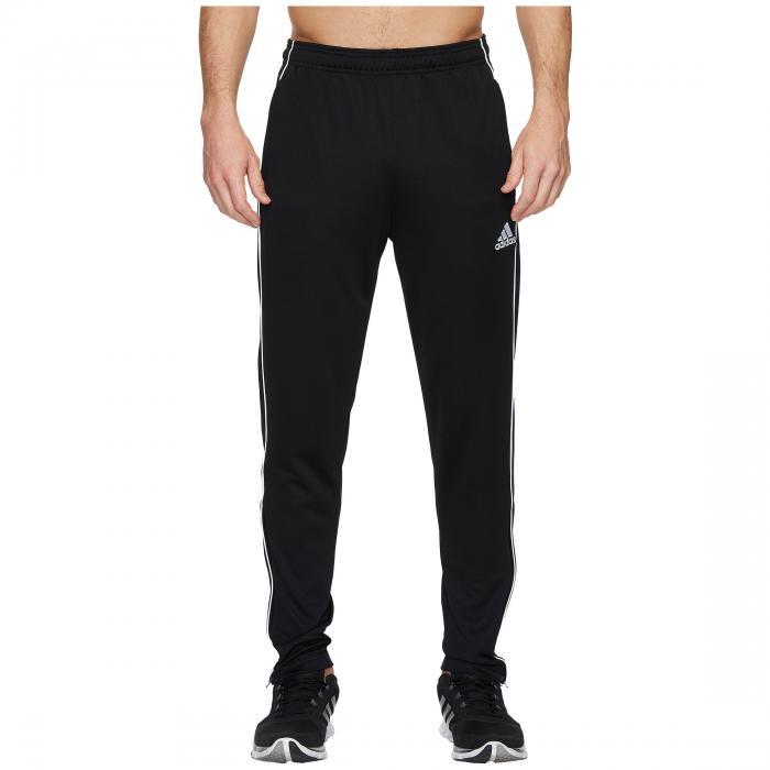 アディダス ADIDAS トレーニング 【 CORE18 TRAINING PANTS BLACK WHITE 】 メンズファッション ズボン パンツ 送料無料