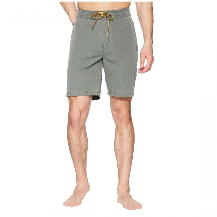 【NeaYearSALE1/1-1/5】RIP CURL 【 CONTRA BOARDSHORTS GREEN 】 メンズファッション 水着 送料無料