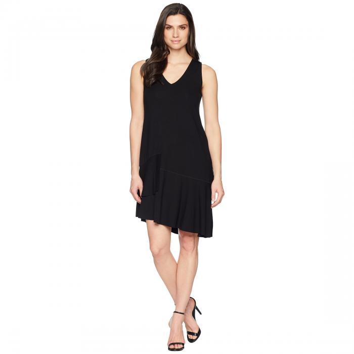 LILLA P ドレス レディースファッション ワンピース レディース 【 Peplum Dress 】 Black