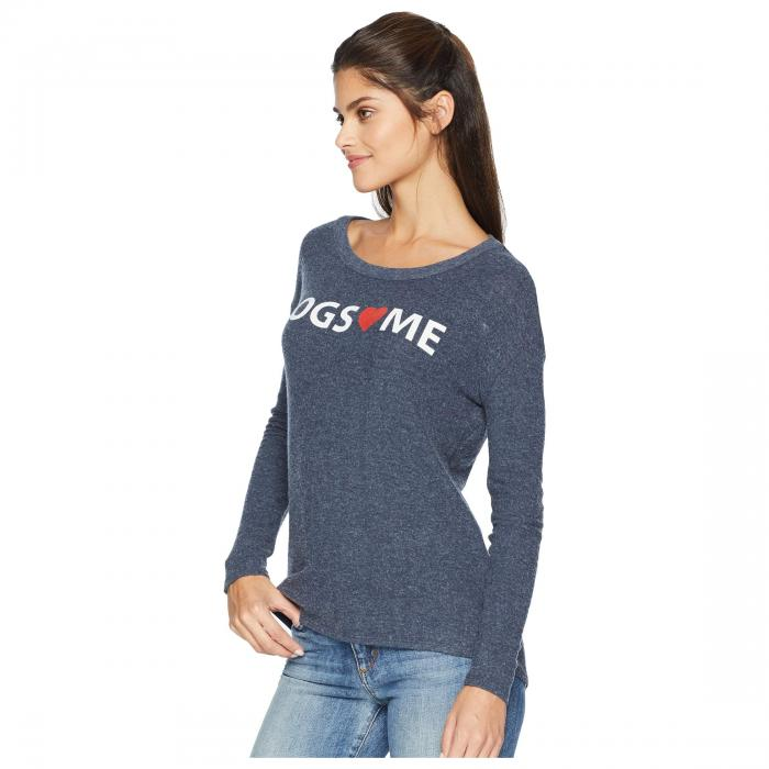 CHASER Womens Love Knit Long Sleeve Basic Pullover
