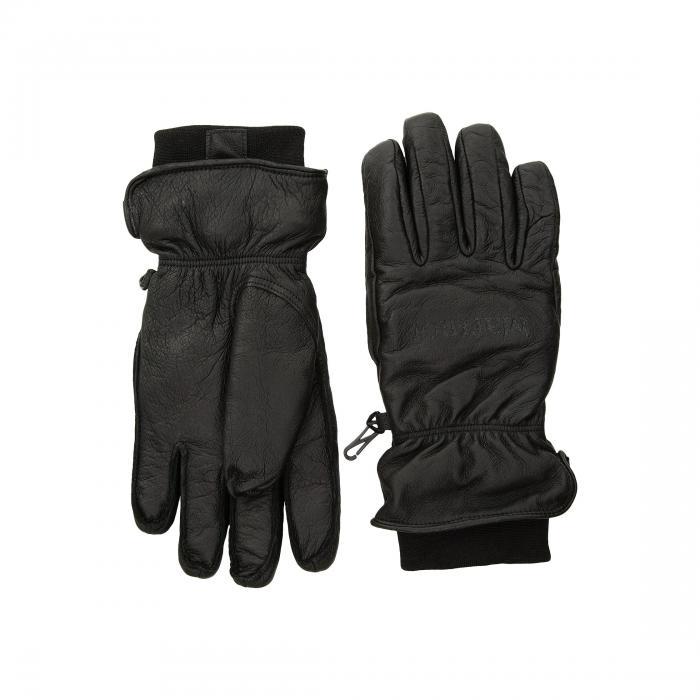 BLACK 【  黒色 マーモット MARMOT 】 手袋 MORAINE ブラック MITT アームウォーマー MARMOT バッグ グローブ