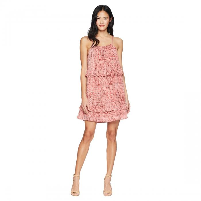 """JACK BY BB DAKOTA ドレス """"beach Batik"""" レディースファッション ワンピース レディース 【 Logan """"beach Batik"""" Printed Dress 】 Rosette Pink"""