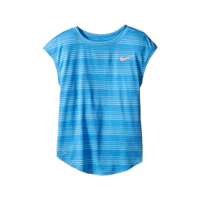 【海外限定】ストライプ ヘザー ドライフィット Tシャツ キッズ 【 STRIPE HEATHER DRIFIT GRADIENT TEE LITTLE KIDS 】