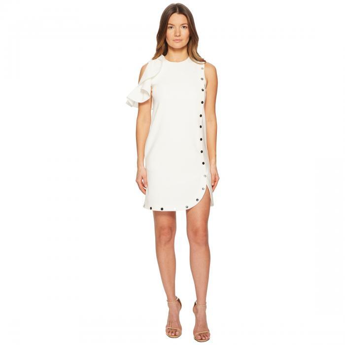 SPORTMAX ノンスリーブ 【 SLEEVELESS EUREKA DRESS WHITE 】 レディースファッション ワンピース 送料無料