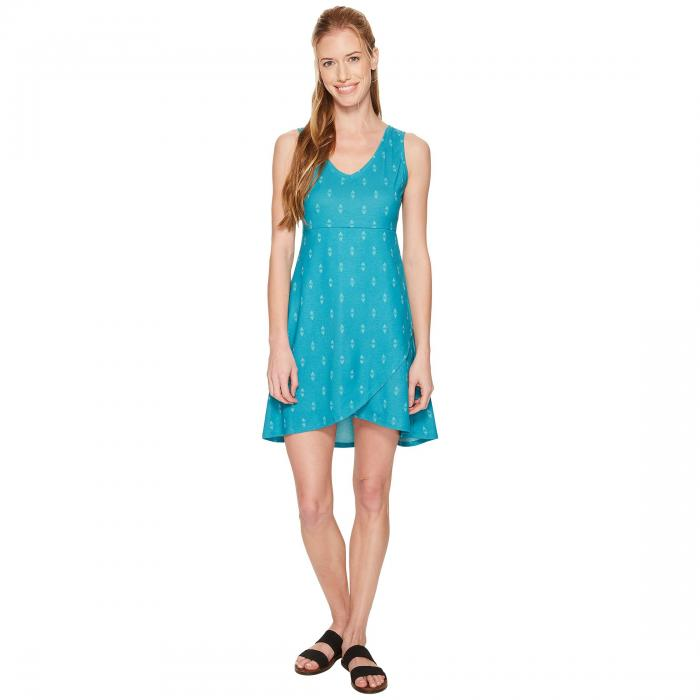 FIG CLOTHING ドレス レディースファッション ワンピース レディース 【 Axa Dress 】 Obsidian Turquoise
