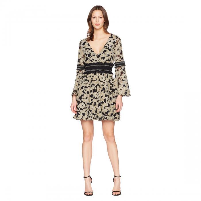 【スーパーセール商品 12/4-12/11】ZAC POSEN 【 MIKA DRESS SPROUT MULTI 】 レディースファッション ワンピース 送料無料