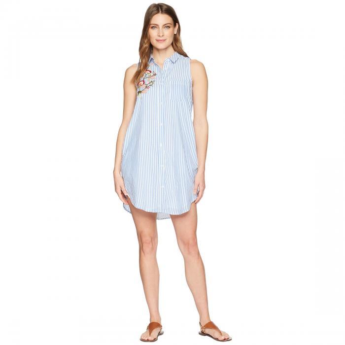 TOLANI ノンスリーブ ドレス レディースファッション ワンピース レディース 【 Holly Sleeveless Dress 】 Blue