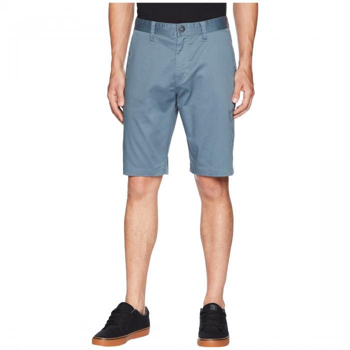 VOLCOM ショーツ ハーフパンツ メンズファッション ズボン パンツ メンズ 【 Zap Frickin Mod Stretch Shorts 】 Ash Blue