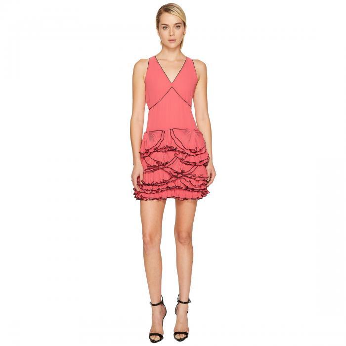 【海外限定】ドレス ワンピース レディースファッション 【 BOUTIQUE MOSCHINO GEORGETTE RUFFLE DRESS 】【送料無料】