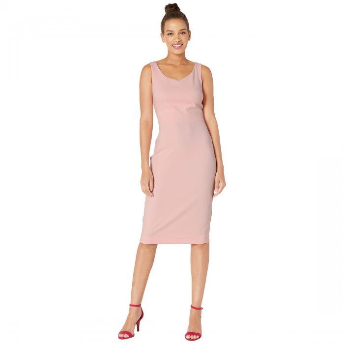 ベッツィジョンソン BETSEY JOHNSON クレープ ドレス レディースファッション ワンピース レディース 【 Scuba Crepe Midi Dress 】 Blossom Bliss