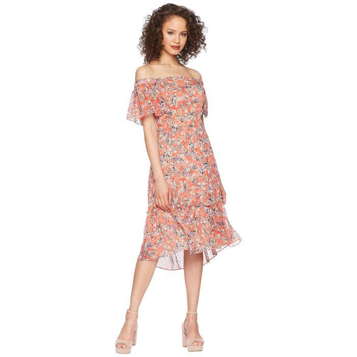 ADELYN RAE ドレス レディースファッション ワンピース レディース 【 Maisie Off The Shoulder Dress 】 Old Rose Multi