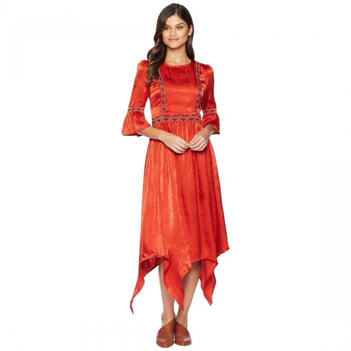 MOON RIVER ウーブン ドレス レディースファッション ワンピース レディース 【 Woven Dress 】 Geranium