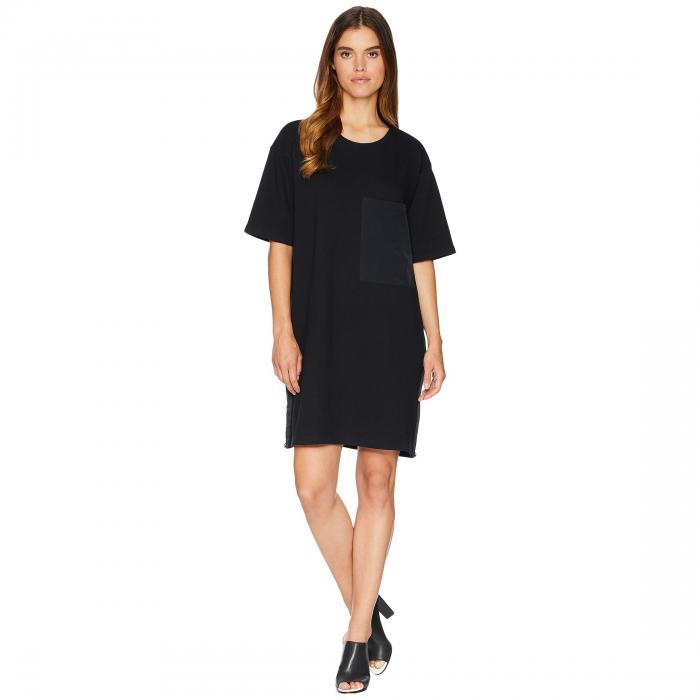 セブンフォーオールマンカインド 7 FOR ALL MANKIND 【 LARGE POCKET DRESS BLACK 】 レディースファッション ワンピース 送料無料