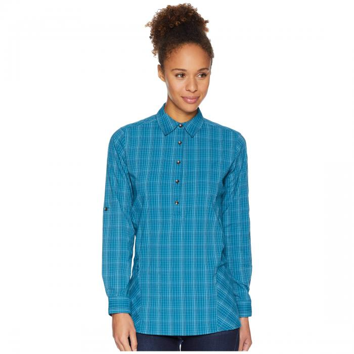 ROYAL ROBBINS 【 SPOTLESS TRAVELER TUNIC BLUE CORAL 】 レディースファッション トップス Tシャツ カットソー 送料無料