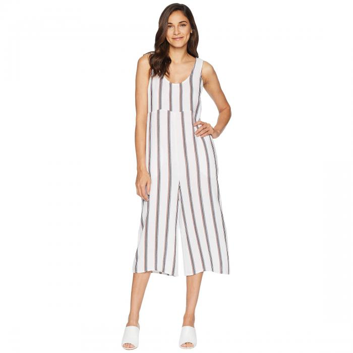 TAVIK レディースファッション オールインワン サロペット レディース 【 Ramona Jumpsuit 】 White Stripe