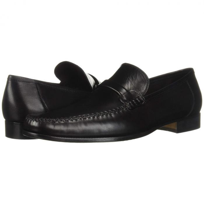 ブルーノマリ BRUNO MAGLI メンズ ローファー 【 Porro 】 Black Nappa Leather
