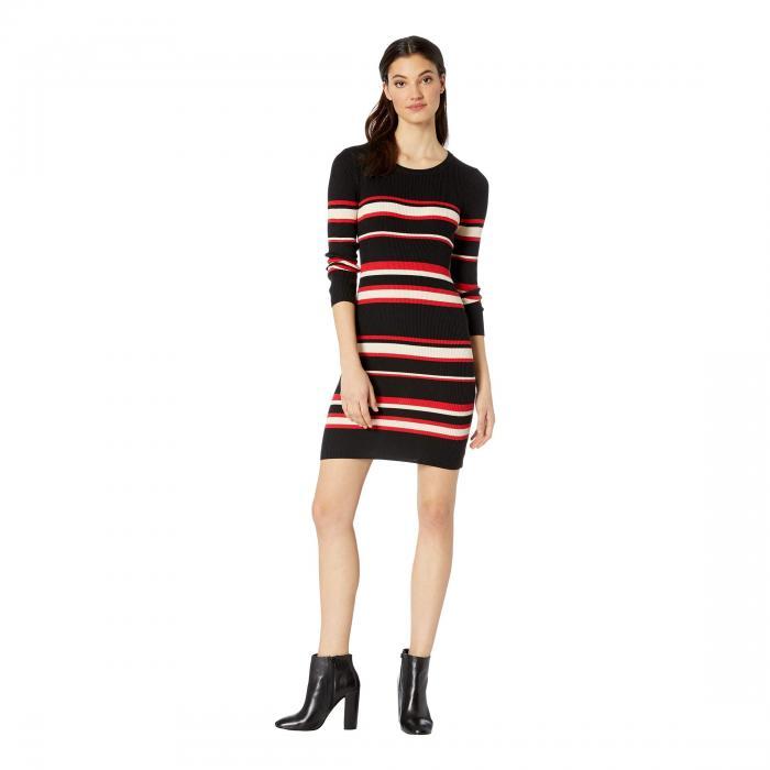 SANCTUARY ドレス レディースファッション ワンピース レディース 【 Trailblaze Sweater Dress 】 Street Red Stripe