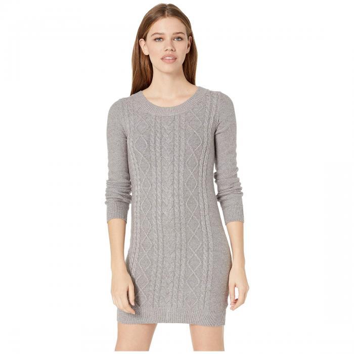 JACK BY BB DAKOTA ニット ドレス レディースファッション ワンピース レディース 【 Keeps Getting Sweater Cable Knit Dress 】 Light Heather Grey