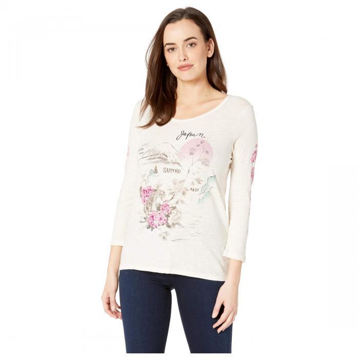 LUCKY BRAND Tシャツ 【 LUCKY BRAND JAPAN TEE BIRCH 】 レディースファッション トップス Tシャツ カットソー