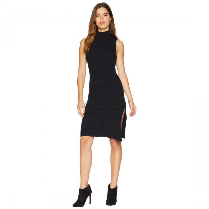 LNA ノンスリーブ ドレス レディースファッション ワンピース レディース 【 Sleeveless Slub Sweater Dress 】 Heather Black